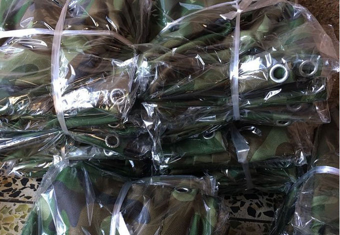 600D Oxford Waterproof Equipment Covers / Camouflage Machine Cover