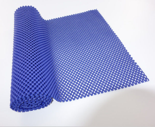 Corrosion Resistance Grid PVC Non Slip Mat 5mm Carpet Underlay With ODM Service