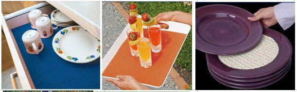 Skidproof Pvc Non Slip Mat Anti Slip Mat For Kitchen Tray And Plate