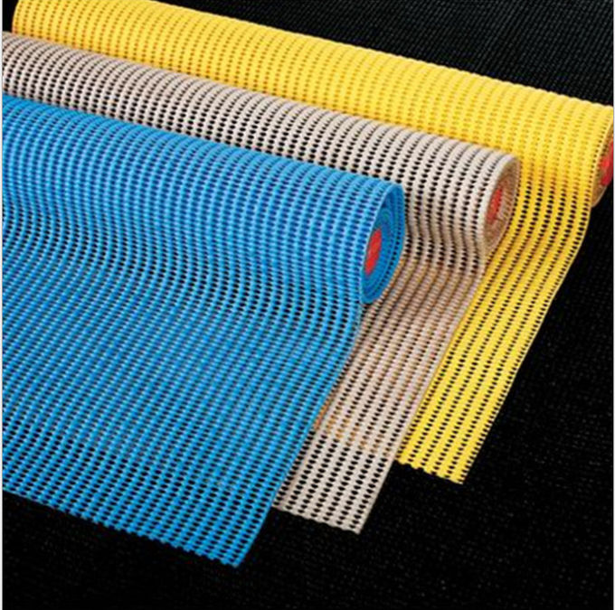 Slip Resistant Anti Slip PVC Mat For Tool Cabinet And Drawer Underlay
