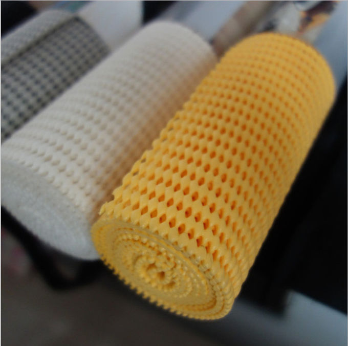 Simply Peel Off PVC Non Slip Mat Recyclable Long Life Polyester Mesh