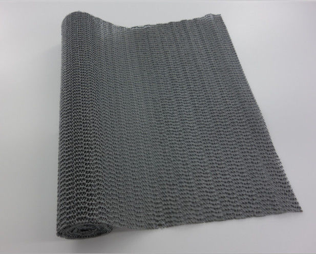 Polyester Mesh PVC Non Slip Mat For Instrument And Tools Poly Bag Packing