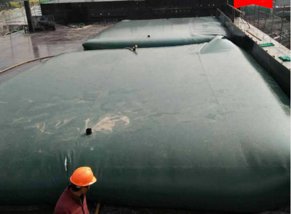 TPU Coating Fabric Liquid Containment Fuel Bladder Soft And Transportable For Industry