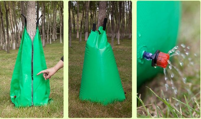 15 Gallons Slow Release Watering Bag For Tree Dip Irregation PVC Material