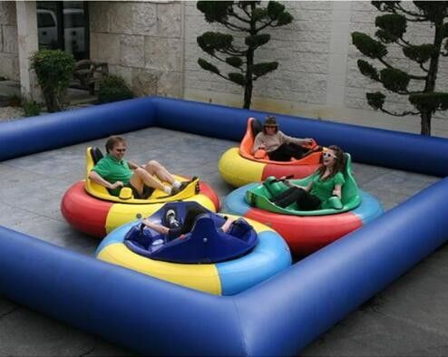 High Strength PVC Swimming Pool , PVC Inflatable Lap Pool  4.5M*4.5m For Kids