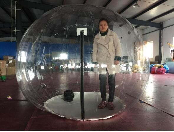 Inflatable Bubble Show Ball Inflatable Red Bubble Tent For Display 2M D