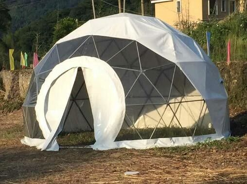 4M Garden Igloo Geodesic Dome Tent , Outdoor Geodesic Event Dome House Tent