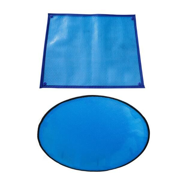 Portable Thermal PE Bubble Plastic Swimming Pool Covers Thickness 400um 500um 600um