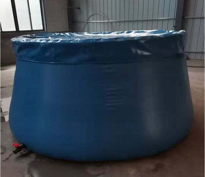 Irrigated Onion Shape PVC Tarpaulin Water Tank Collapsible Flexible Bladder  4500L