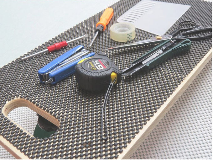 Corrosion Resistance Grid Tools PVC Non Slip Mat 5mm Carpet Underlay With ODM Service